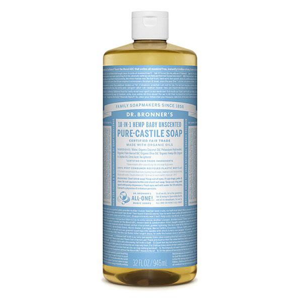 Castile Liquid Soap Babymild Dr Bronner S Simplygreen Gr