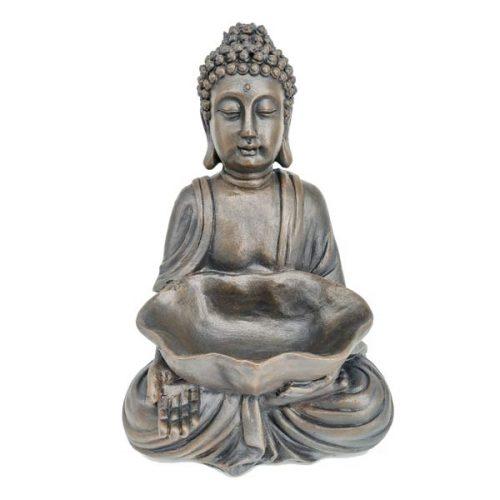 Βούδας σε διαλογισμό με μπωλ