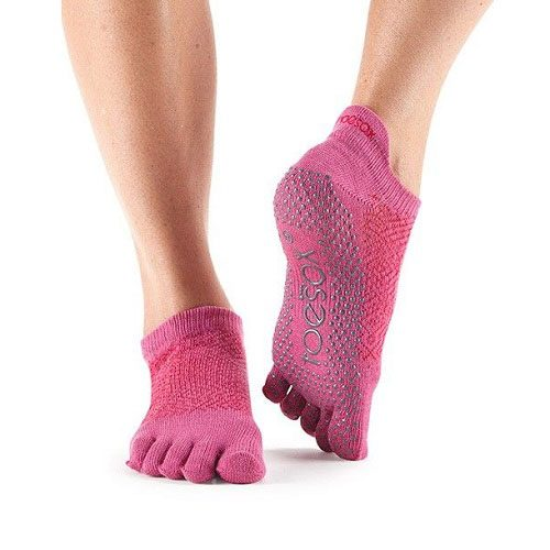 Toesox Low Rise - ruby